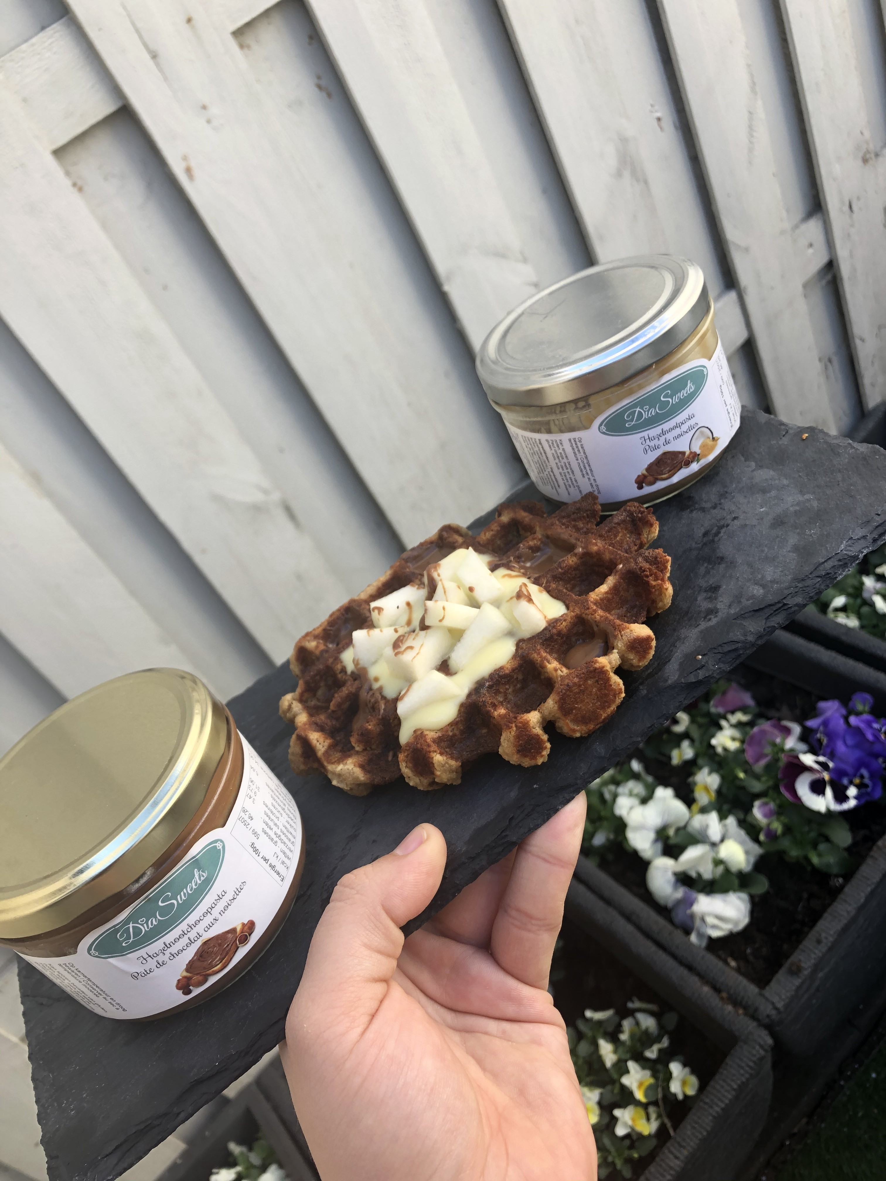 vegan wafel